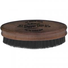 Dapper Dan Bartbürste aus hartem Nußbaum