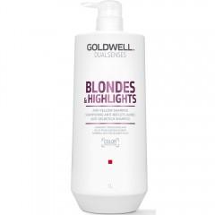 Goldwell Dualsenses Blondes & Highlights Anti-Yellow Shampoo 1000 ml