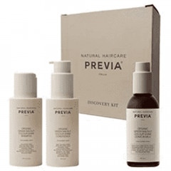 Previa Keeping Green Walnut Color Shine Discovery Kit