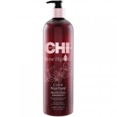 CHI Rose Hip Oil Protecting Shampoo 739 ml