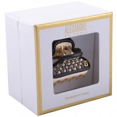 Alexandre de Paris Pince Vendôme 45 mit Strass in Geschenkebox