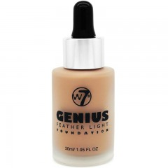 W7 Cosmetics Genius Foundation Natural Tan 30 ml