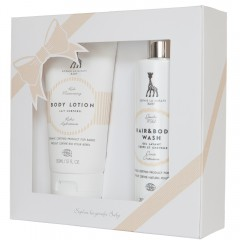 Sophie a girafe Gift Set - Body Lotion & Hair&Body Wash