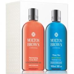 Molton Brown Arctic Birch & Water Mint Shower Gel Duo 2x300 ml