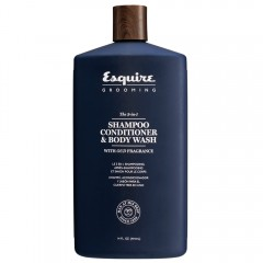 Esquire Grooming 3-in-1 Shampoo, Conditioner, Bodywash 414 ml