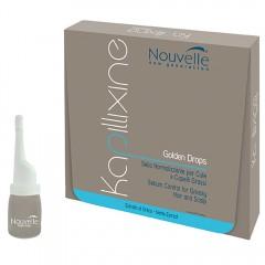 Nouvelle Kapillixine Golden Drops gegen fettiges Haar 10x10 ml
