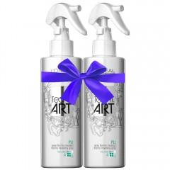 L'Oréal Professionnel tecni.art Duo Pli Thermo-Modelling Spray 2x 190 ml