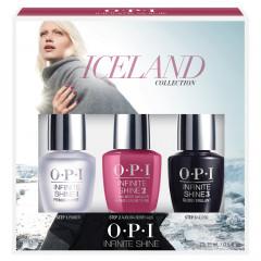 OPI Iceland ISDI8 Infinite Shine Trio Pack