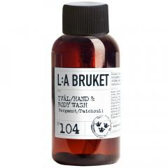 L:A BRUKET No.104 Liquid Soap Bergamot/Patch. 60 ml