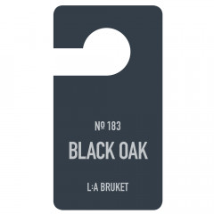 L:A BRUKET No.183 Fragrance Tag Black Oak