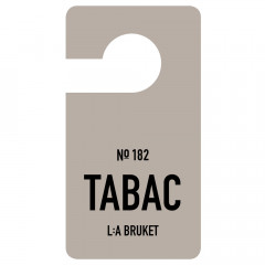 L:A BRUKET No.182 Fragrance Tag Tabac