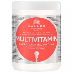 Kallos Multivitamin Hair Mask 1000 ml