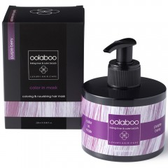 oolaboo COLOR IN MASK purple berry 250 ml