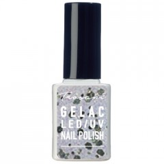 Trosani GEL LAC Glitter White 10 ml