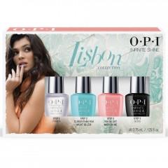 OPI LISBON Infinite Shine Mini 4-Pack