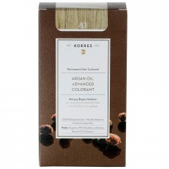 Korres Argan Oil Hair Colorant 8.1 Hellblond Asch