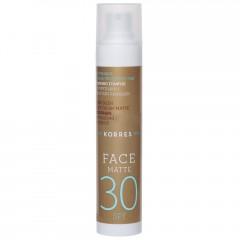 Korres Red Grape Sonnencreme für das Gesicht SPF 30 - Matt 50 ml