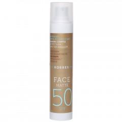 Korres Red Grape Sonnencreme für das Gesicht SPF 50 - Matt 50 ml