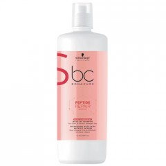 Schwarzkopf BC Bonacure Peptide Repair Rescue Deep Nourishing Shampoo 1000 ml