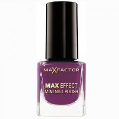 Max Factor Max Effect Mini Nail Polish Intense Plum 4,5 ml
