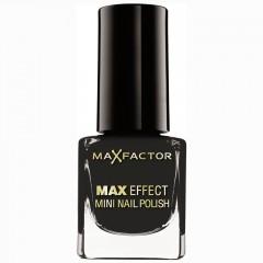 Max Factor Max Effect Mini Nail Polish Lacquer Noir 4,5 ml