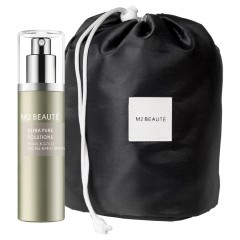 M2 Beauté Pearl & Gold Facial Spray 75 ml + Gratis Beauty Bag