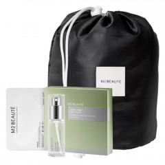 M2 Beauté Second Skin Eye Mask Collagen + Gratis Beauty Bag