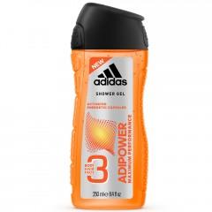 adidas adipower 3in1 Shower Gel for Men 250 ml