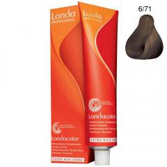 Londa Demi-Permanent Color Creme 6/71 Mittelbraun Braun-Asch 60 ml