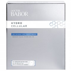 BABOR Doctor Babor 3D Hydro Gel Face Mask  4 Stk.