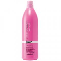 Inebrya Ice Cream No-Yellow Shampoo 1000 ml
