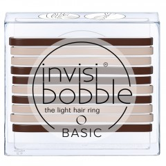 Invisibobble Basic Mocca and Cream 10er Sets