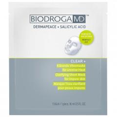 Biodroga MD Clear+ Klärende Vliesmaske 5 x 16 ml