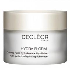 Decleór Hydra Floral Anti-Pollution Hydrating Rich Cream 50 ml
