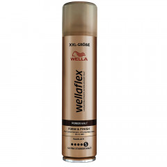 Wella Wellaflex Power Halt Form & Finish Haarlack XXL 400 ml