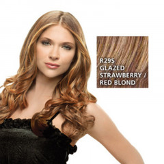 Hairdo 23 Zoll Clip in Wavy Extension R29S Glazed Strawberry 57 cm