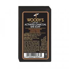 Woody's  Black Charcoal Soap 227 g