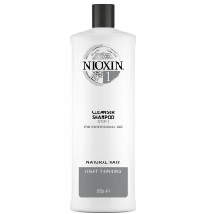 NIOXIN System 1 Cleanser Shampoo Step 1 1000 ml