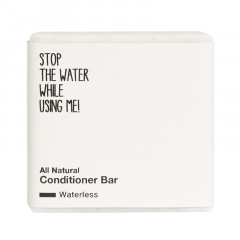 Stop the water while using me! All Natural Conditioner Bar 45 g