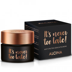 Alcina It's never too late Gesichtcreme 50 ml