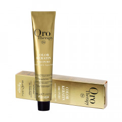Fanola Oro Puro Keratin Color 7.14 100 ml
