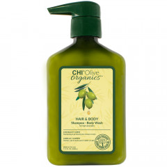 CHI Olive Organics Hair & Body Shampoo 340 ml