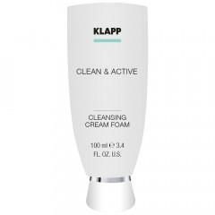 Klapp Cosmetics Clean & Active Cleansing Foam 100 ml
