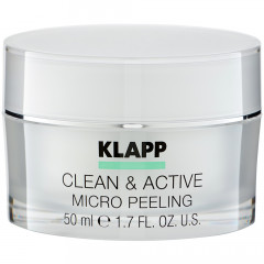 Klapp Cosmetics Clean & Active  Micro Peeling 50 ml