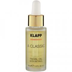 Klapp Cosmetics A Classic Facial Oil with Retinol 30 ml
