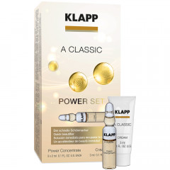 Klapp Cosmetics A Classic Power Set