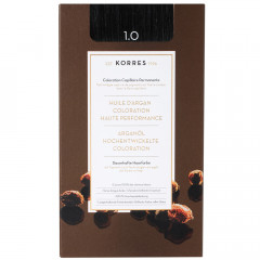 Korres Argan Oil Hair Colorant 1.0 Schwarz