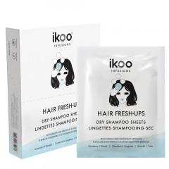 ikoo Infusions Hair Fresh-Ups Dry Shampoo Sheets 8 Stk.