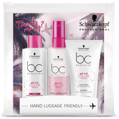Schwarzkopf BC Bonacure pH 4,5 Color Freeze Travel Trio