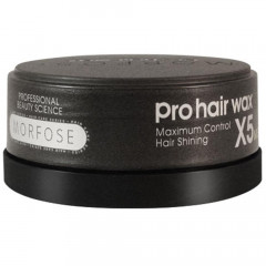 Morfose Pro Hair Wax X5 Schwarz 150 ml